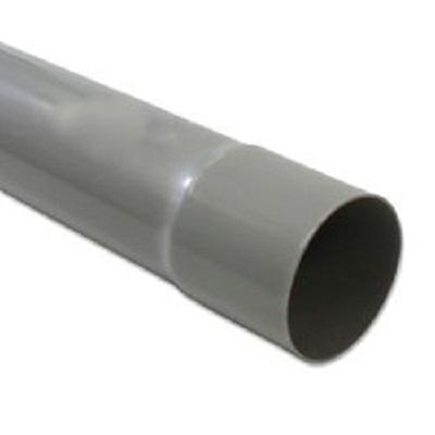 Pvc buis grijs 50x1,8mm 4m met lijmmof