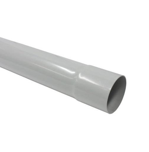 Pvc grijs buis 60x1,8mm 4m met lijmmof
