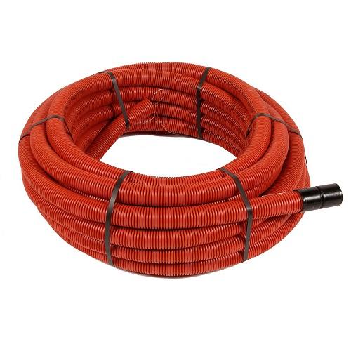 Kabelbeschermbuis 40mm rood (rol 25m)