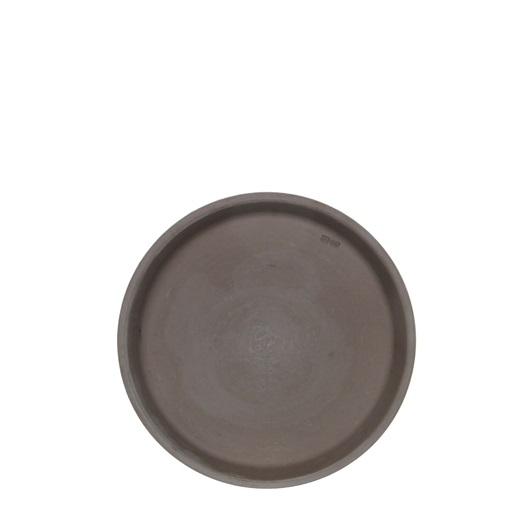 Stan schaal basalt grijs h2cm x d16cm