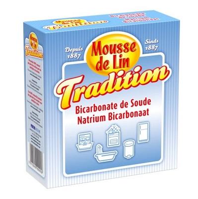 Mousse de lin natrium bicarbonaat °
