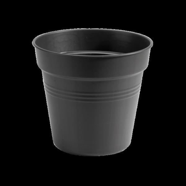 """""""green"""" basic kweekpot 17cm zwart h15. 6"""