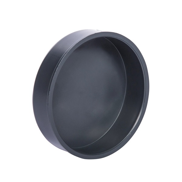 Pvc grijs afsluitkap 160mm
